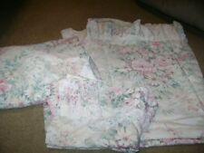 Full Size Sheet Set...Vintage Springmaid...Pink Floral