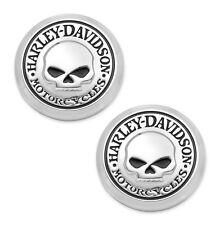 COPPIA EMBLEMI HARLEY-DAVIDSON® 14100749 Metallo adesiva Medaglione