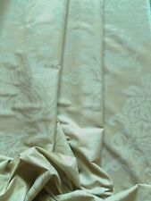 Zoffany Curtain Fabric CORALLO 2.35m Pale Gold/Cream Linen/Silk Mix Design 235cm