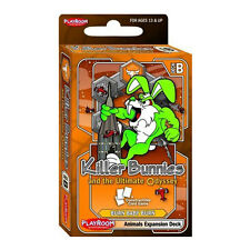 Killer Bunnies & The Ultimate Odyssey: Animals Expansion Deck B - Brand New