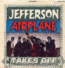 "JEFFERSON AIRPLANE ""TAKES OFF"" ORIG TAIWAN 1967 VG+/VG+"