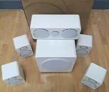 Wharfedale DX-2 Home Audio 5.1 Speaker Package -White  EX-DEMO#