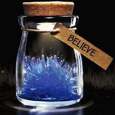 Hot DIY Growing Grow Crystal Bottle Jar Powder LED Mood Light Lamp Wishing Wish