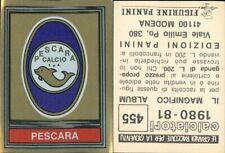 Panini Calciatori 2000 N 583 PESCARA  SCUDETTO NEW EDICOLA!!