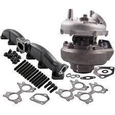 Turbolader + Auspuffkrümmer für BMW X5 3.0d (E53) 160KW 218PS 753392 742417 M57N