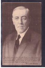 Cartolina Presidente Stati Uniti D'America Wodrow Wilson K2881