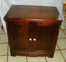 Pine Old Tavern Ethan Allen 2 Door Record Cabinet  (RP)