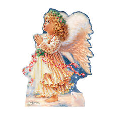 LITTLE CHRISTMAS ANGEL Dona Gelsinger CARDBOARD CUTOUT Standup Standee Poster