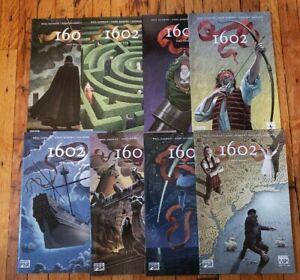 Marvel 1602 #1-8 (NM) - Complete Series Neil Gaiman
