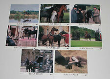 Black Beauty 1994 set of 8 US photos horses