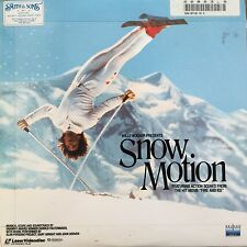 LASERDISC - NTSC - WILLY BOGNER PRESENTS SNOW MOTION 1988 NELSON ENTERTAINMENT