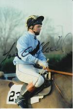 JONJO O'NEILL HAND SIGNED 6X4 PHOTO HORSE RACING.