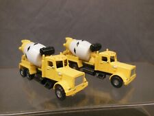 Ho Scale Cement Mixers Construction Layout Vehicles