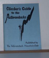 Rock Climbing Healy - Climber's Guide to the Adirondacks 1967