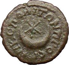 SEPTIMIUS SEVERUS 193AD Nicopolis Roman RARE Coin Six-pointed star Moon  i28905
