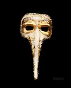 Masque de venise nasone symphonia - masque venitien long nez authentique 363