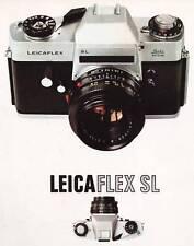 LEICAFLEX SL CAMERA BROCHURE -from 1968--LEICAFLEX SL SLR--LEICA
