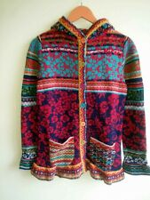 Ivko Magnificent Sweater/Coat, 80% Wool, 20 % Nylon, Size 36