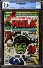 Incredible Hulk Annual # 5 CGC 9.6 White (Marvel 1976) 2nd appearance Groot
