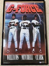 Large Matt Williams, Kevin Mitchell, Will Clark San Francisco Giants 1991 Poster