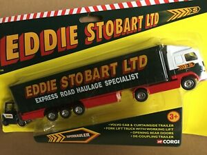 Diecast  corgi  Volvo truck and. Eddie Stobart Ltd
