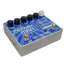 Electro-Harmonix Stereo Memory Man W/Hazarai Digital Delay/Looper Effects Pedal