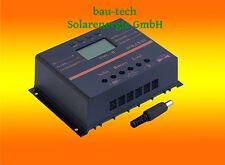 80A Solar LCD Laderegler Photovoltaik 12V/24V auto. für Solarpanel Solar Montage