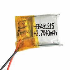 LiPo 3.7v 40mah 1S Battery 401215 - UK
