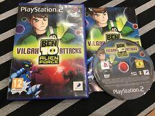 PS2 : ben 10 alien force vilgax attacks
