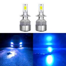 2x H7 8000K Ice Blue 8000LM CREE LED Headlight Bulbs Kit High Low Beam Fog Light