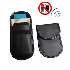 RF Signal Blocker Anti-Radiation Shield Case Bag Pouch Blcak for Mobile Phone
