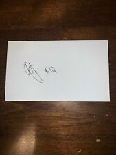 AJ PRICE - BASKETBALL - AUTOGRAPH SIGNED - INDEX CARD -AUTHENTIC - C652