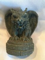 Gargoyle Figurine Desk Top Or Book Shelf Collectible Decorative Paperweight 3""
