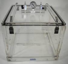 Vacuum Desiccator Cabinet Acrylic Withshelf Amp Vacuum Gauge