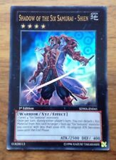 Yugioh - Shadow of The Six Samurai - Shien - Ultra Rare - SDWA-EN041 . Free P&P