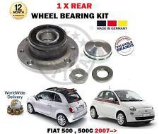PER FIAT 500 + 500C 2007> NUOVO 1 x KIT CUSCINETTI RUOTA POSTERIORE con sensore