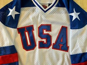 Team USA 1980 Championship Home YOUTH Hockey Jersey K1 Sportswear SHIPS FREE!