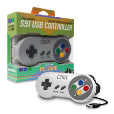 SUPER NINTENDO SNES Style USB Controller Gamepad for PC & MAC