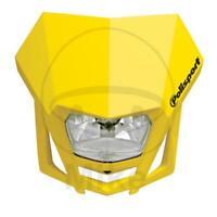 Polisport Scheinwerfer Maske LMX gelb 01 8657600003