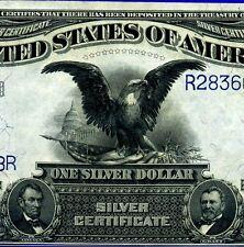 1899 $1 S/C (( Black Eagle )) Uncirculated R28366128R