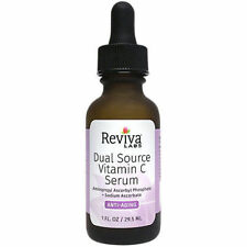 Reviva Labs Dual Source Vitamin C Serum for Anti-Aging 1oz NEW!
