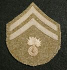 WWI US Army Ordnance Corps Corporal Embroidered on Wool Enlisted Rank Patch Orig