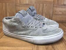 4bb4a01d5b8fba RARE🔥 VANS Half Cab XXV PRO Classics Gray Suede Sz 11 Men s Skateboarding  Shoes