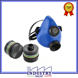Maschera con filtro A2B2E2K2P3 R filtri anti polveri Protettiva Semi Facciale
