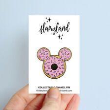 Flairyland Mickey Donut enamel pin Disney Inspired