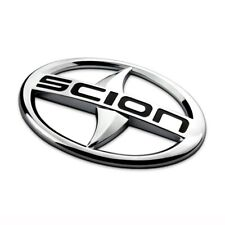 12Cm Black Chrome Front Grille or Rear Trunk Emblem For Scion Tc Xb Xa Xc Xd Frs