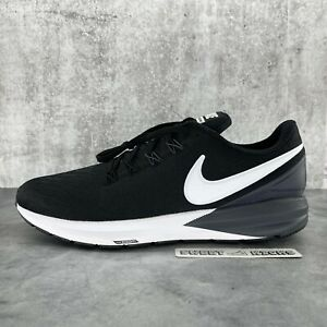 Nike Air Zoom Structure 22 Men Running Shoes 'Black' - Size 12.5 (AA1636-002)