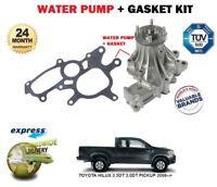 Pour Toyota Hilux Vigo 2.5 3.0 D4D Pick-Up 2006- > Neuf Eau Pompe + Joint Set