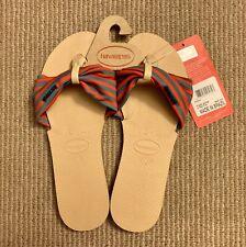 Havaianas Women's You Saint Tropez Sandals Ivory, Size 7/8 (Style 4140714) - NWT