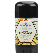 Bee By The Sea Buckthorn and Honey Chemical Free Natural Deodorant 2.6 Ounces